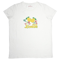 T-shirt Limona, White