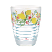 Water glass Limona, Pale blue
