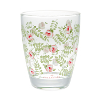 Water glass Lily, Petit white
