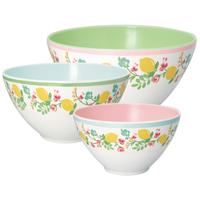 Salad bowl Limona, White