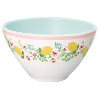 Cereal bowl Limona, White