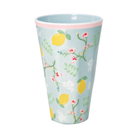 Tall cup Limone, Pale blue