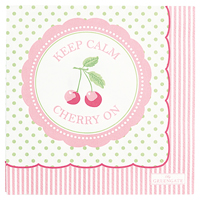 Servetter Cherry, White small