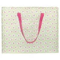 Storage bag Cherry berry, Pale green large