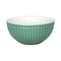 Cereal bowl Alice, Dusty green