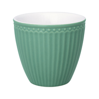 Lattemugg Alice, Dusty green