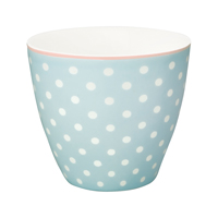 Lattemugg Spot, Pale blue