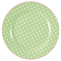Assiett Spot, Pale green