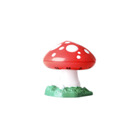 Kitchen timer in Mushroom shape, Red