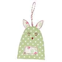 Egg warmer rabbit Spot, Pale green