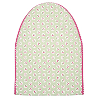 Ironing cover Cherry berry, Pale green