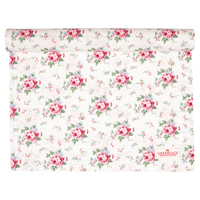 Table runner Marley, Petit white