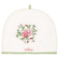Tea cosy Mary, White