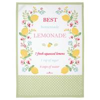 Kökshandduk Limona, White piece printed