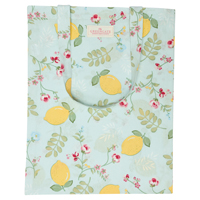 Bag cotton Limona, Pale blue