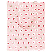 Bag cotton Strawberry, Pale pink