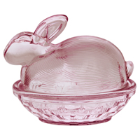 Jar rabbit, Pale pink