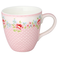 Kids mug Meryl, Pale pink