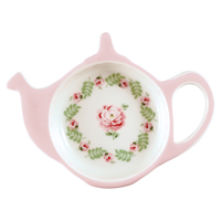 Teabag holder Lily, Petit white