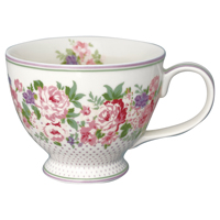 Temugg Rose, White