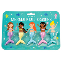 Suddgummin, Mermaid Tail set of 5