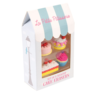 Suddgummin, La petite patisserie Cake set of 4