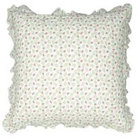 Kuddfodral Lily, Petit white w/frill