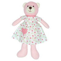 Teddy Lily, Petit white w/dress