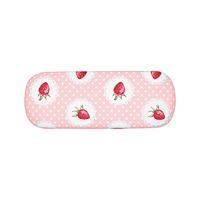 Glasögonfodral Strawberry, Pale pink