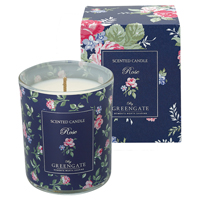 Scented candle Rose, White 120 g