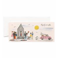 Kort med kuvert, Wedding Send-Off Card
