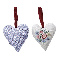 Heart Juno, Dusty blue set of 2