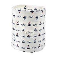 Storage bag Noah, White medium