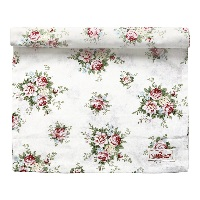 Table runner Aurelia, White