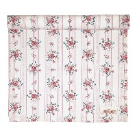 Table runner Fiona, Pale pink
