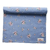 Table runner Nicoline, Dusty blue