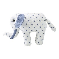 Teddy Elephant Noah, White small