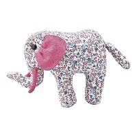 Teddy Elephant Ruby, Petit white small