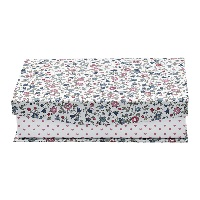 Storage box Ruby, Petit white w/divider