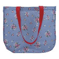 Shopper bag Nicoline, Dusty blue