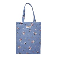 Bag cotton Nicoline, Dusty blue