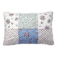 Kuddfodral Nicoline, White patchwork