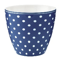 Lattemugg Spot, Blue