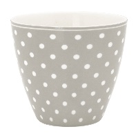 Lattemugg Spot, Grey