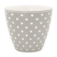 Lattemugg Spot, Grey