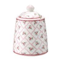 Sockerskål  Rita, Pale pink