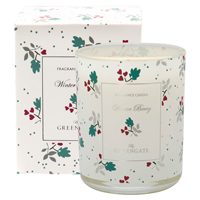 Scented candle Joselyn, White 120g
