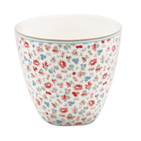 Lattemugg Tilly, White