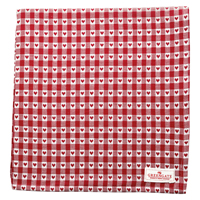 Duk Heart petit, Red 145x250 cm