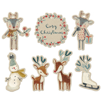 Cosy Christmas, Gift tags 14 pcs